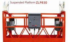 10M Powered Aluminium Rope Suspended Platform ZLP1000 Single Phase 2 * 2.2kw