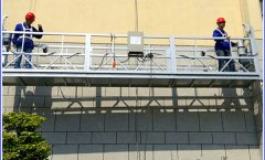 2 x 1,8 kw Suspended Scaffolding Fase Tunggal Suspended Platform Cradle ZLP800